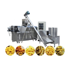 Hot selling cheese corn snacks food making process plant production line in China with CE