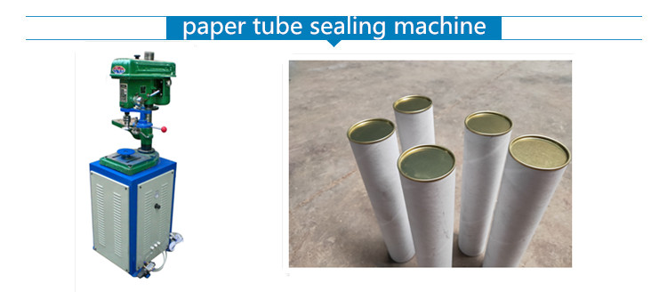 SE-150 paper tube tinplate  sealing machine