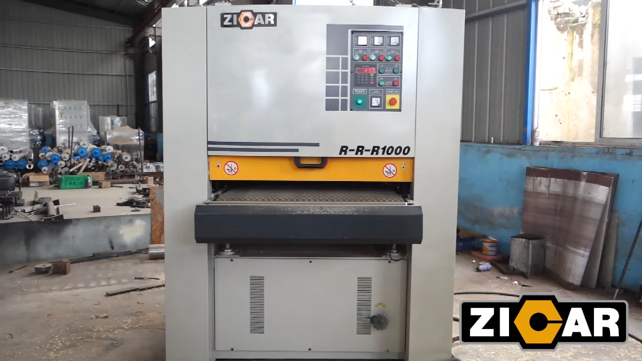 ZICAR Easy to Operate R-R-R1000 wood machine sanding machine belt sander machine