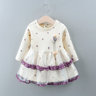 Good price 18 months old baby kids party wear children dresses for girls