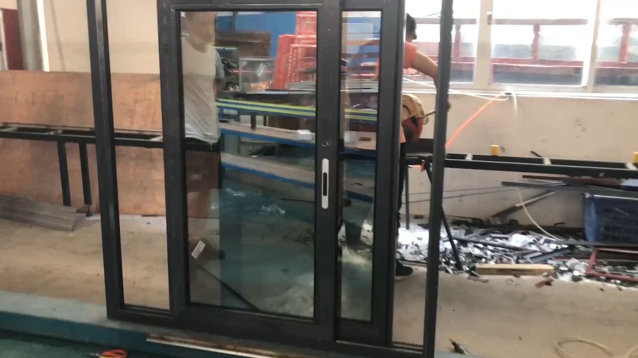 Triple laminated glass  1.6MM thickness sound proof glass windows