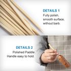 Bamboo Skewer Thin Bamboo Stick Kids Food Steak Olive Thin Kabab Bamboo Skewer Food Stick With Logo