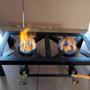 2 burner camping gas cooker stove