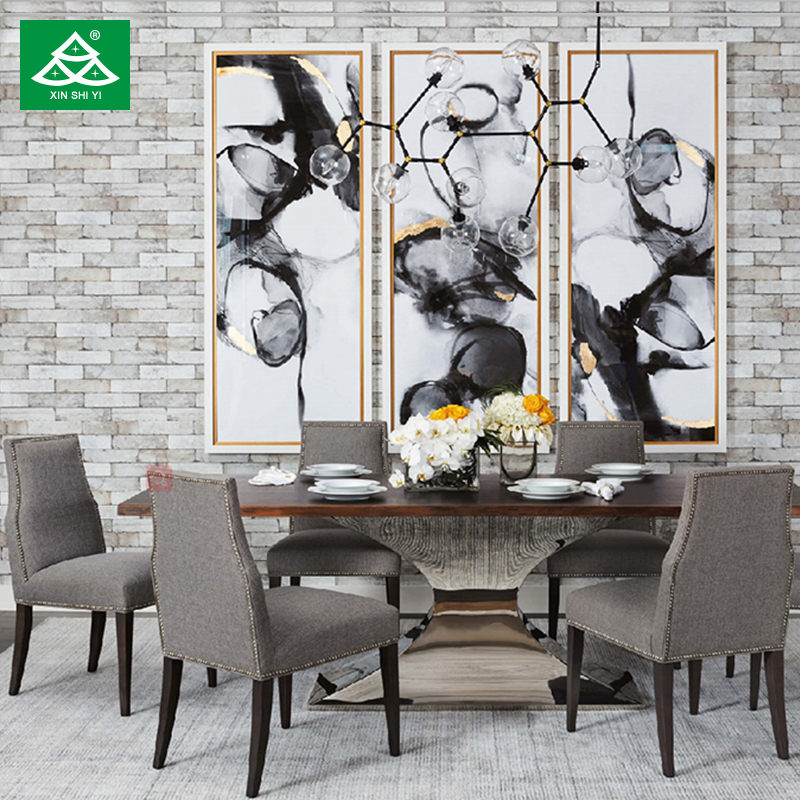 Modern Elegant <strong>Design</strong> 8 Seater Royal Dining Table with Chairs