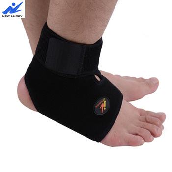 hot selling compression knitted foot sleeve sports adjustable ankle support