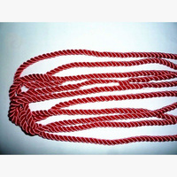 3-strand twisted nylon rope for decoration