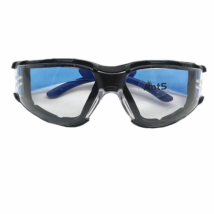 ANT5 PPE نظارات السلامة مع واضح المضادة للخدش العدسات المقاومة و عدم الانزلاق السيطرة الأشعة فوق البنفسجية حماية السلامة على وصفة طبية الزجاج