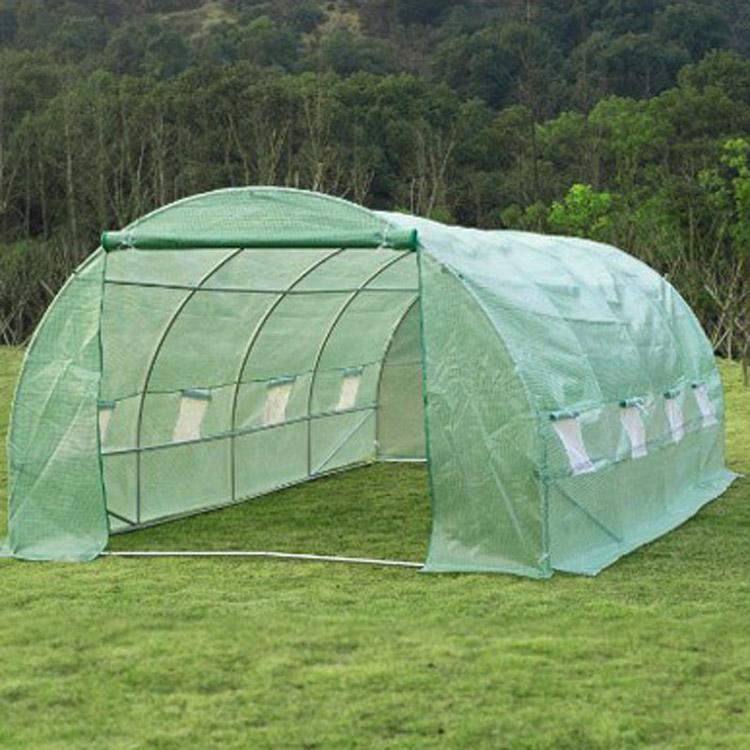 """Больших теплиц 20x10x7 """"холодильной камеры портативный Green House напольный тоннель сад растениеводства горячий дом"""