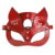 Face Eye Adjustable Leather Harness sexy garter mask for women PU fetish bondage wear sex Gothic tools for Cosplay Costume