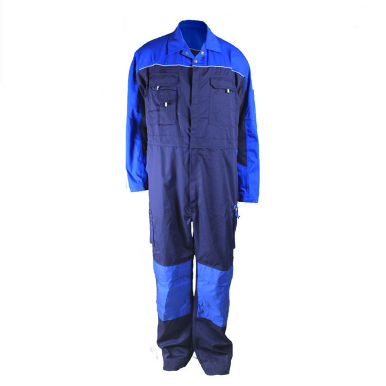 EN 11612 NFPA 2112 Industry Reflective Navy Blue Flame Retardant Coveralls