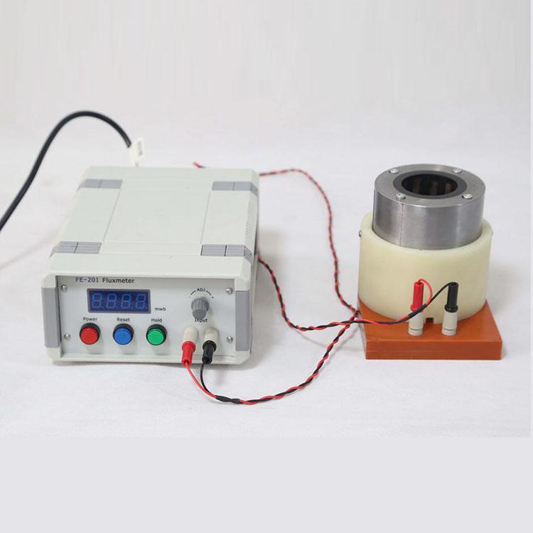 FE-201 fluxmeter testing flux density magnetic measure meter