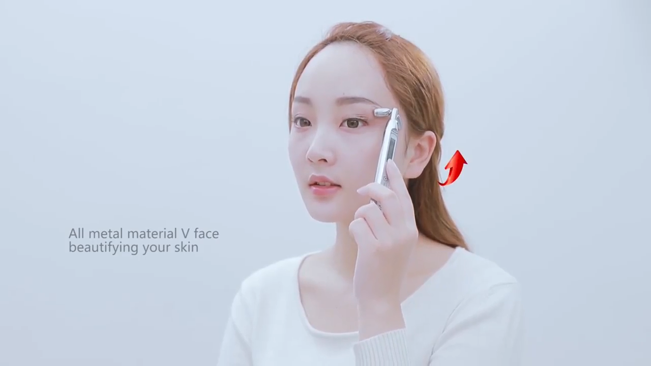 Newest Beauty and Personal Care Face Lift Beauty Bar solar energy microcurrent muscle stimulation lifting pulling whitening