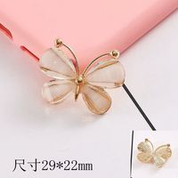 Hot sell butterfly charm pendant jewelry pendant bracelets accessories