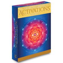 Активация сакральной геометрии Oracle Откройте для себя язык вашей души 44 карты, набор колоды для начинающих, дневник, тканевая игра Divine(Китай)