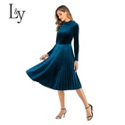 Safe and Reliable prom dress 95%Polyester Anti-Static women clothing 2019 Eco-Friendly prom dress