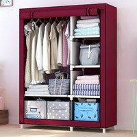 Modern stylish bedroom furniture simple furniture to receive portable assembly of the multi-functional bedroom locker closet