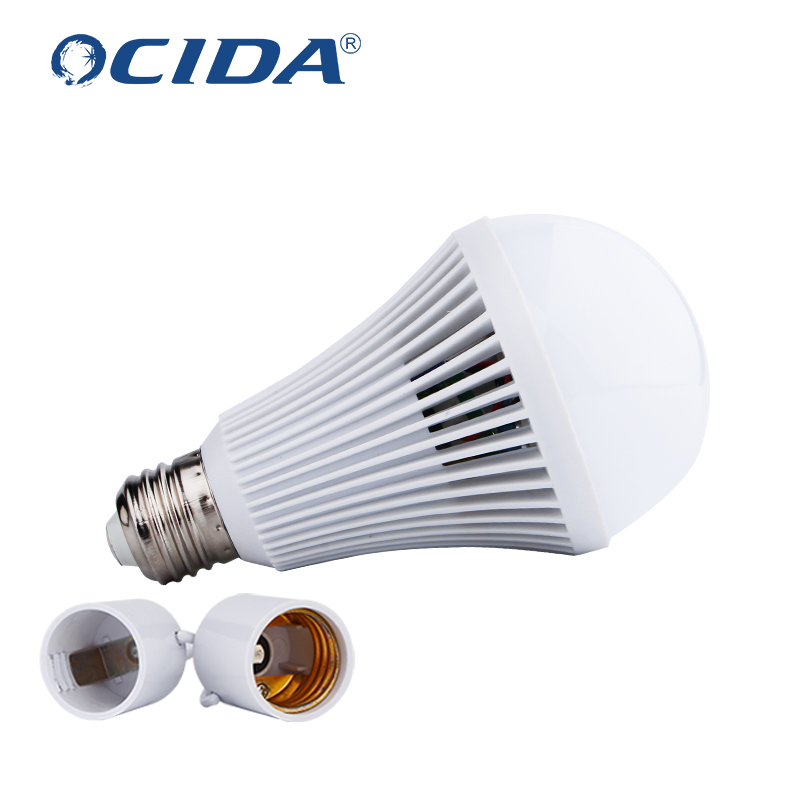 2020 high efficiency led light with isolated driver emergency 7w 9w 12w 15w Led Bulb <strong>E27</strong>