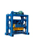 Hongfa QTJ4-40B2 block paving making machine manual interlocking brick making machine
