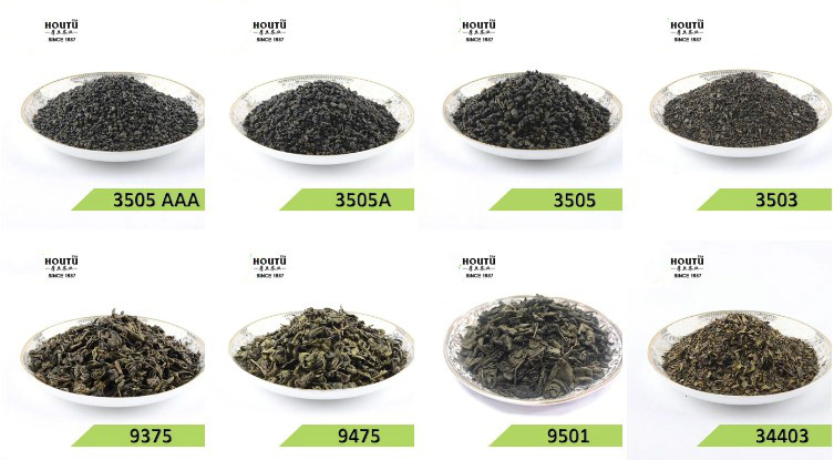 gunpowder 3505 China green tea the vert de chine the vert special - 4uTea | 4uTea.com
