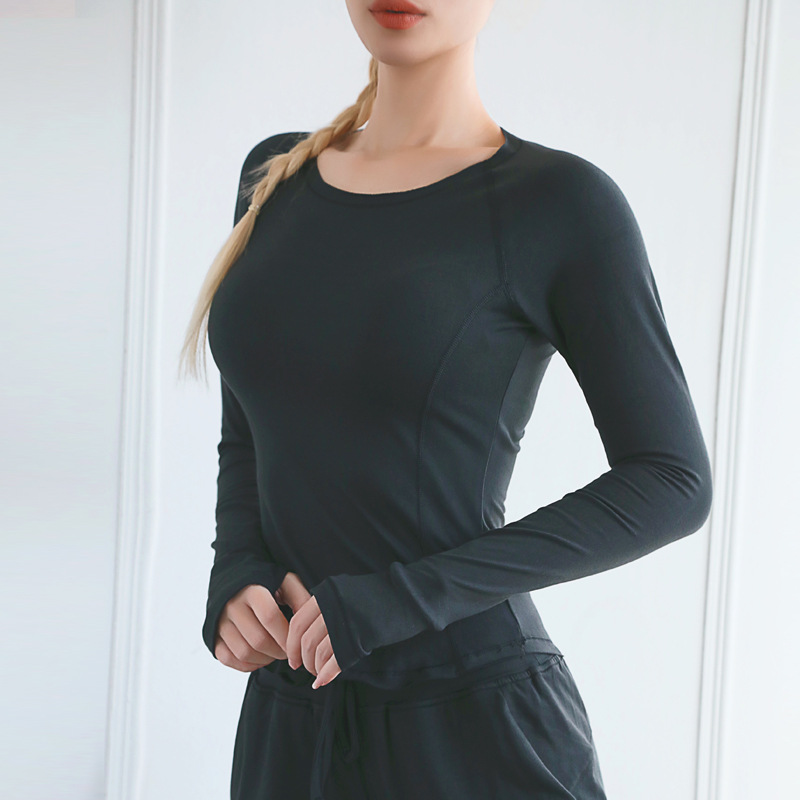 Custom-Compression-Long-Sleeve-Sports-Tops-Fitness