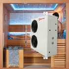 Home Dry Sauna Outdoor Ozone Sauna Air Source Heating System Chinese Manufacturer Sauna Room Heat Pump Air to Water