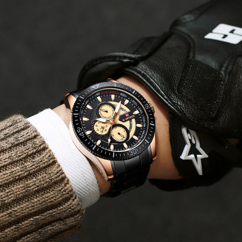 Naviforce 9140 Quartz Watch 5