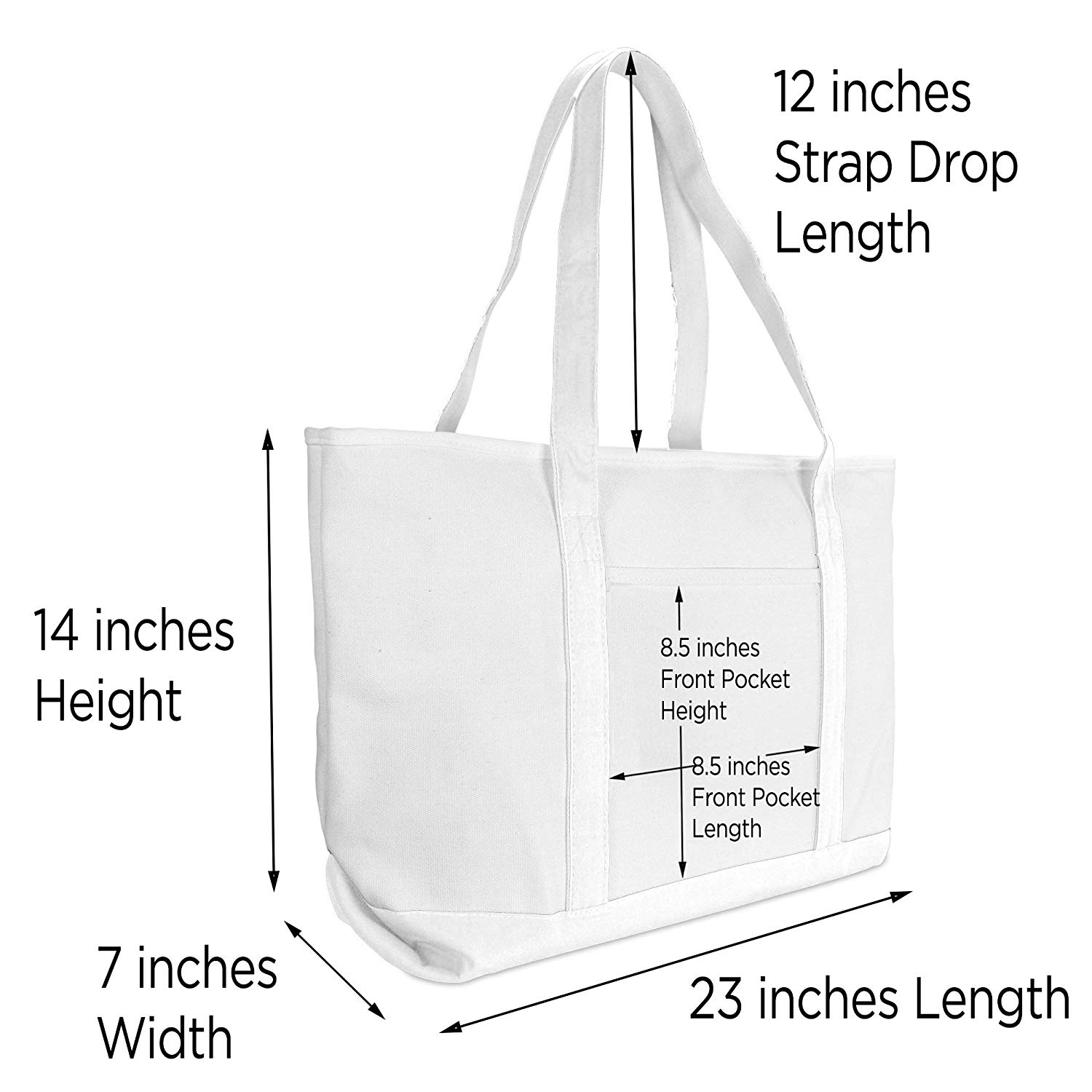Personalized Canvas Bag Printed Beach Tote Bags Custom