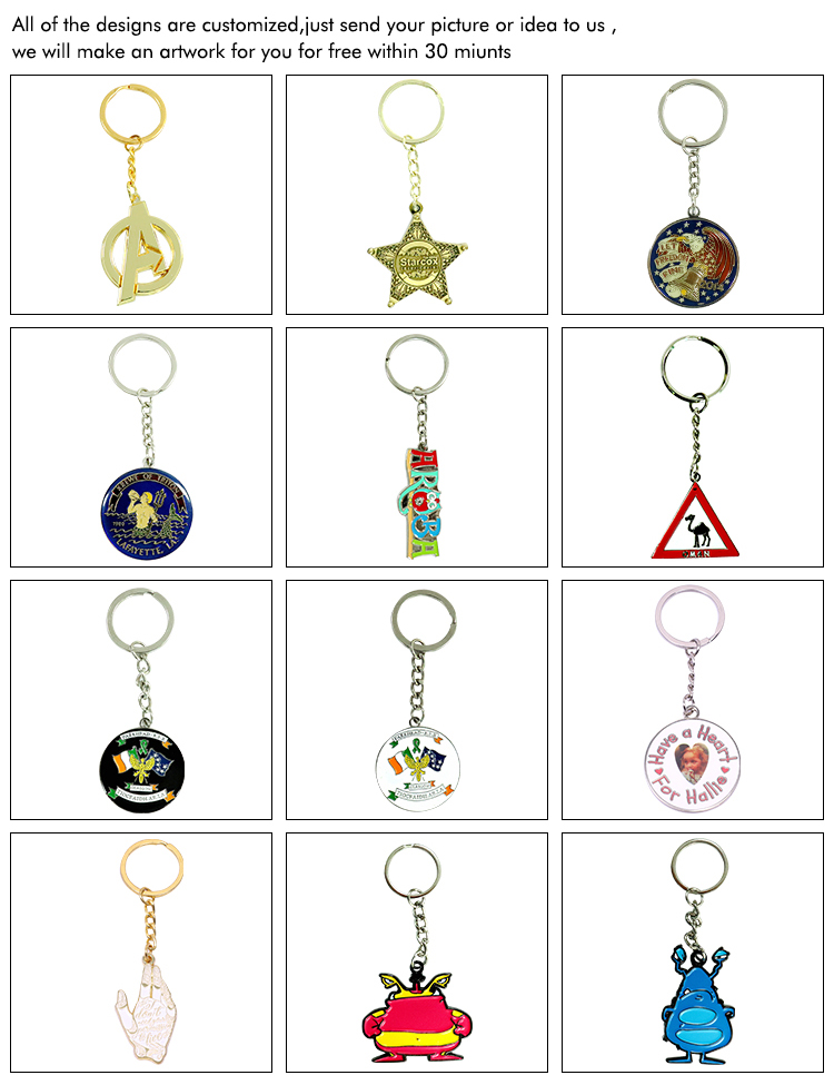 professional manufacturer shape motorcycle custom activities organization car keychains