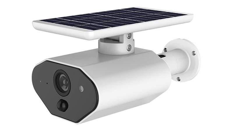 Güneş pili telsiz güvenlik ev kamerası açık su geçirmez HD kablosuz IP kamera iki yönlü ses IR gece görüş
