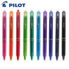 Pilot Frixion Erasable Pen LFBK-23F-B Clicker Retractable Gel Ink Heat Erasable Ball Pen Magic Pen