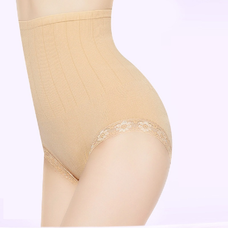 Seamless New Mini Tummy Tuck Lace Toning Panties Ladies Fat