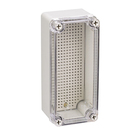 80x180x70 mm Transparent Cover Rectangular Type Cable Electric Plastic Enclosure Panel Junction Box