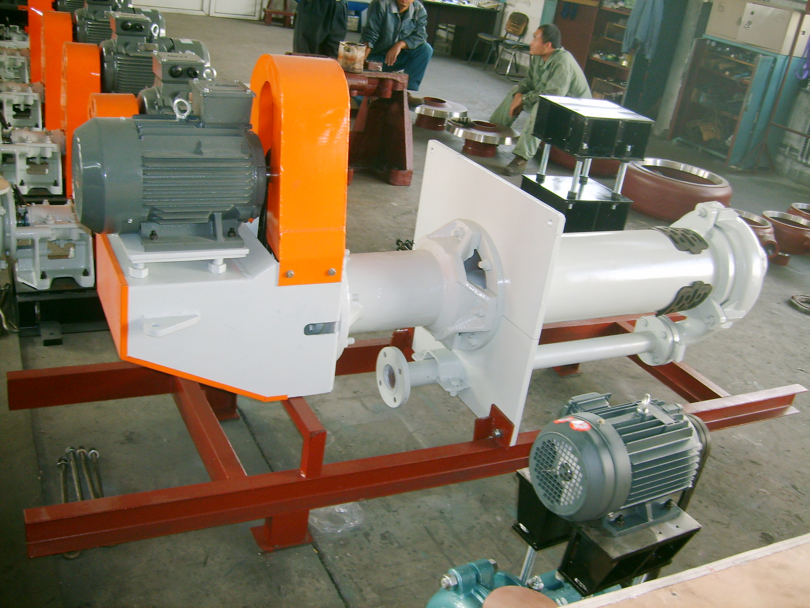 Handling inventory-various vertical slurry pumps, mud pumps, sand pumps-gold mining equipment