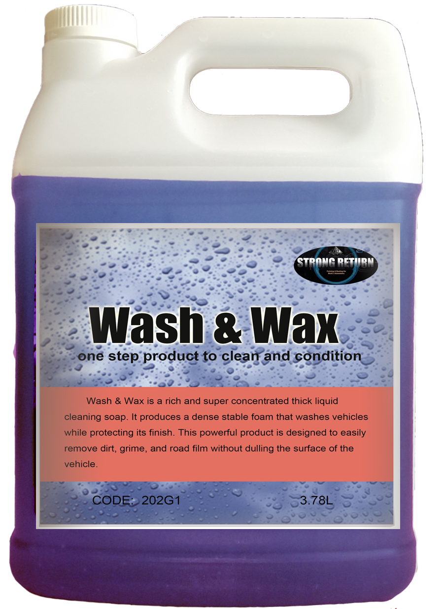Concentrated Touchless automatic car wash shampoo, car wash soap, car cleaner for car washing