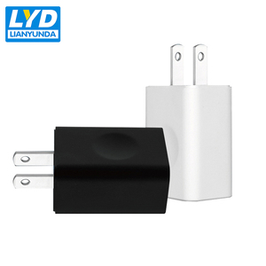 UL Fcc 5v 1a Wall mounted Universal Travel Usb Charger