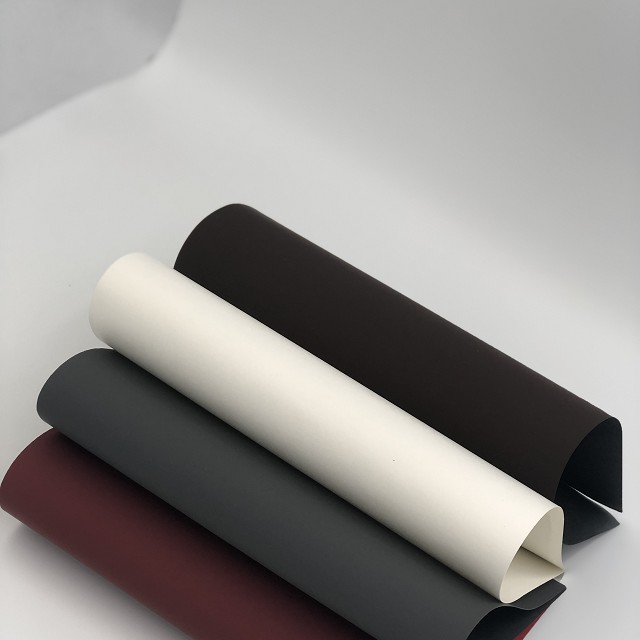 120gsm 250gsm 320gsm Black Colour Soft Touch Paper for Boxes Wrapping