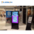 China 39 43 49 55 65 Inch TV LCD Standing Floor Iklan Touch Screen Kios untuk Shopping Mall