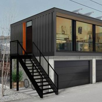 Prefabrictated Tiny Container House Quick Building 20ft Useful Large Container House