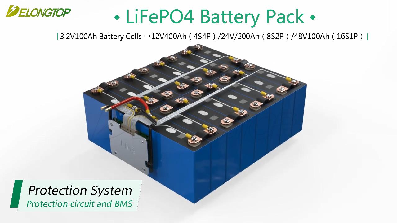 دورة عميق lifepo4 48v 100ah 150ah ليثيوم أيون أنظمة الطاقة الشمسية البطارية