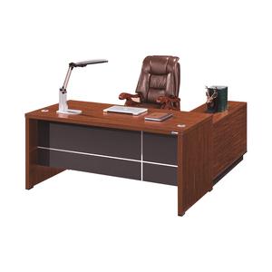 MDF Wood Computer Laminate Desk Top Executive Desk Office Furniture Luxury Director Table Design Office Desk