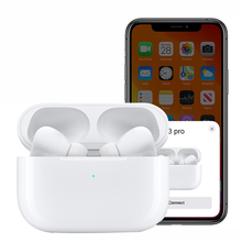 Asli Panas Irpod3 Earphone Headphone Bluetooth I9000TWS 1:1 Earbud Appled Airpoding Pro untuk Air-Pod For <span class=keywords><strong>Apple</strong></span>