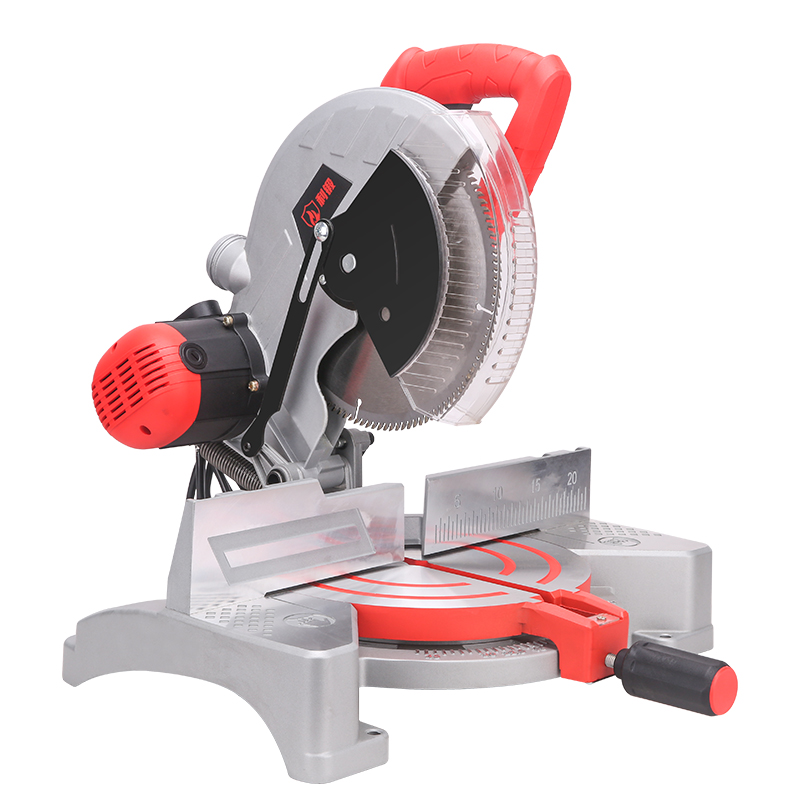 ZHIBIAO Factory 255mm 1800W Sliding Aluminium Cutting Durable Miter Chop Saw