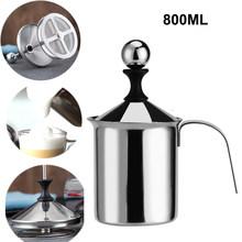 Соковыжималка для взбивания молока с термометром, соковыжималка для взбивания молока из нержавеющей стали, соковыжималка для взбивания мо...(Китай)