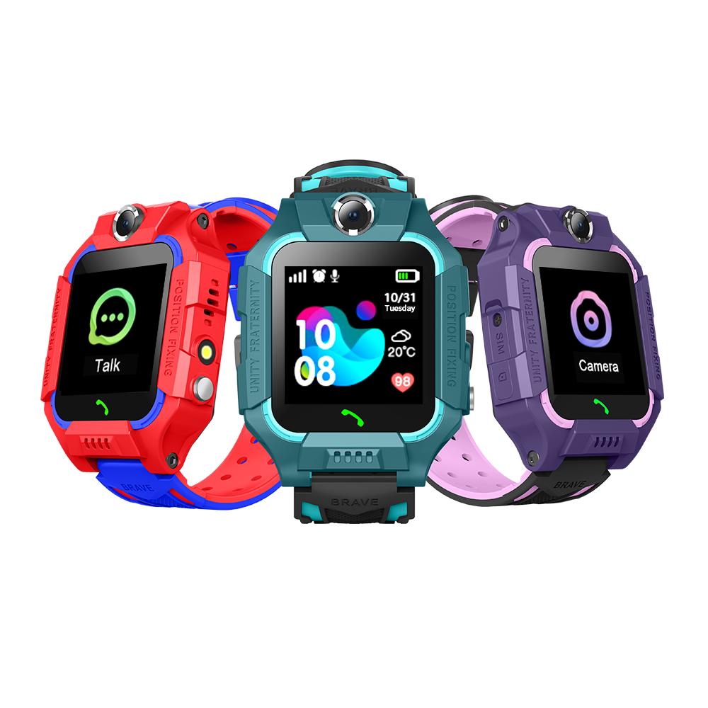 2020 трендовые для IOS/Android телефон Z6 Детские умные часы для детей водонепроницаемый фунтов Детские умные часы анти-потеря сотовые телефоны в виде часов планшет с камерой и микрофоном
