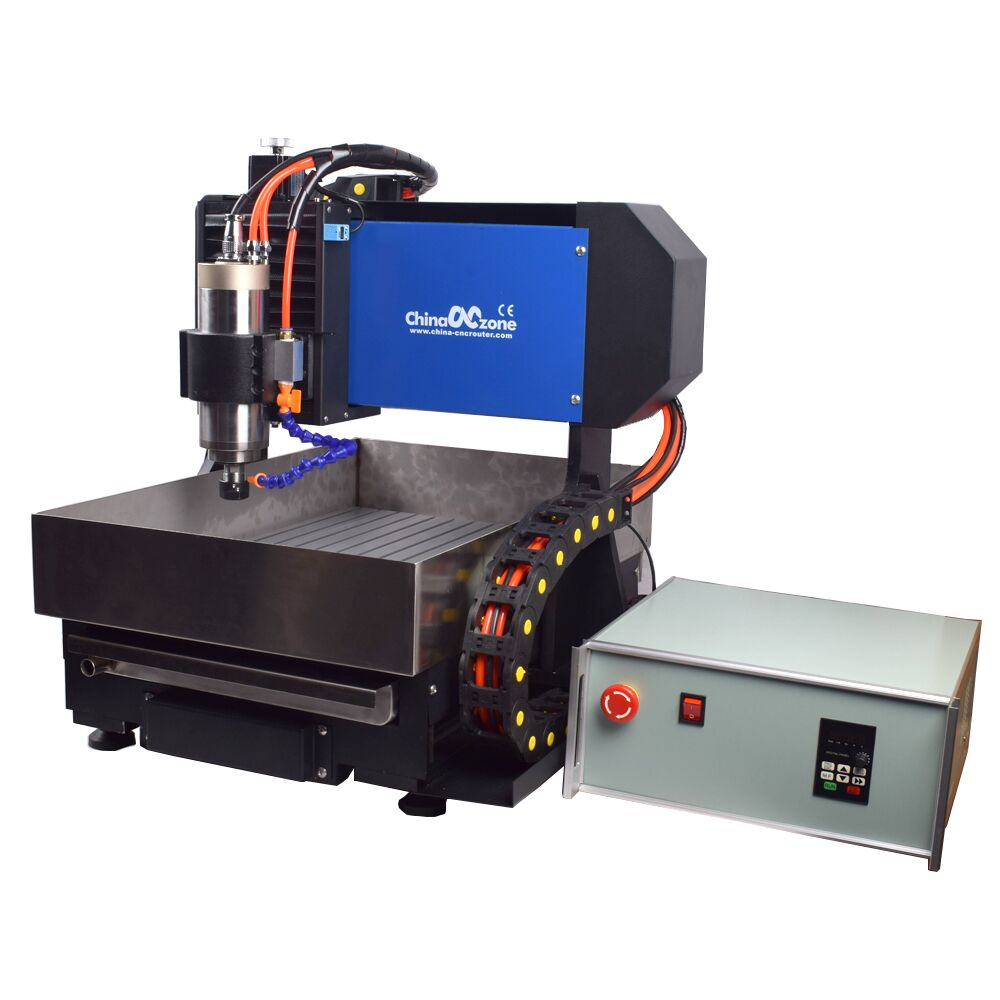 2020 new updated Desktop Mini 3/4axis 2200W 3040 water cooling spindle cnc milling router machine for metal processing