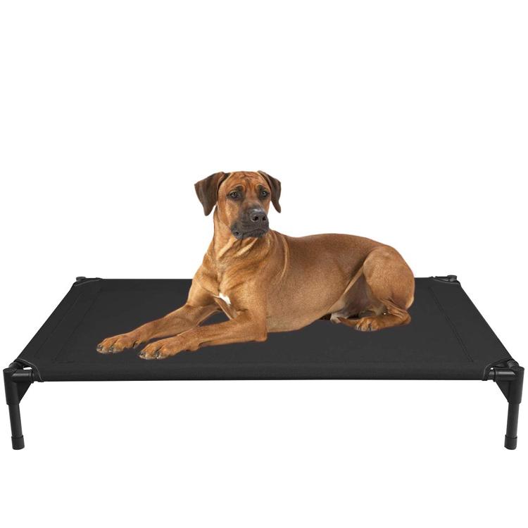 Amazon Levantadas Cama Do Cão À Prova D' Água Elevada & Respirável Durável Portátil Cama Para Animais de Estimação com o No-Slip Pés