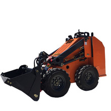 Hot Sale Cina Serbaguna <span class=keywords><strong>Kemudi</strong></span> Hidrolik Mini Wheel Loader Kecil Loading Mesin