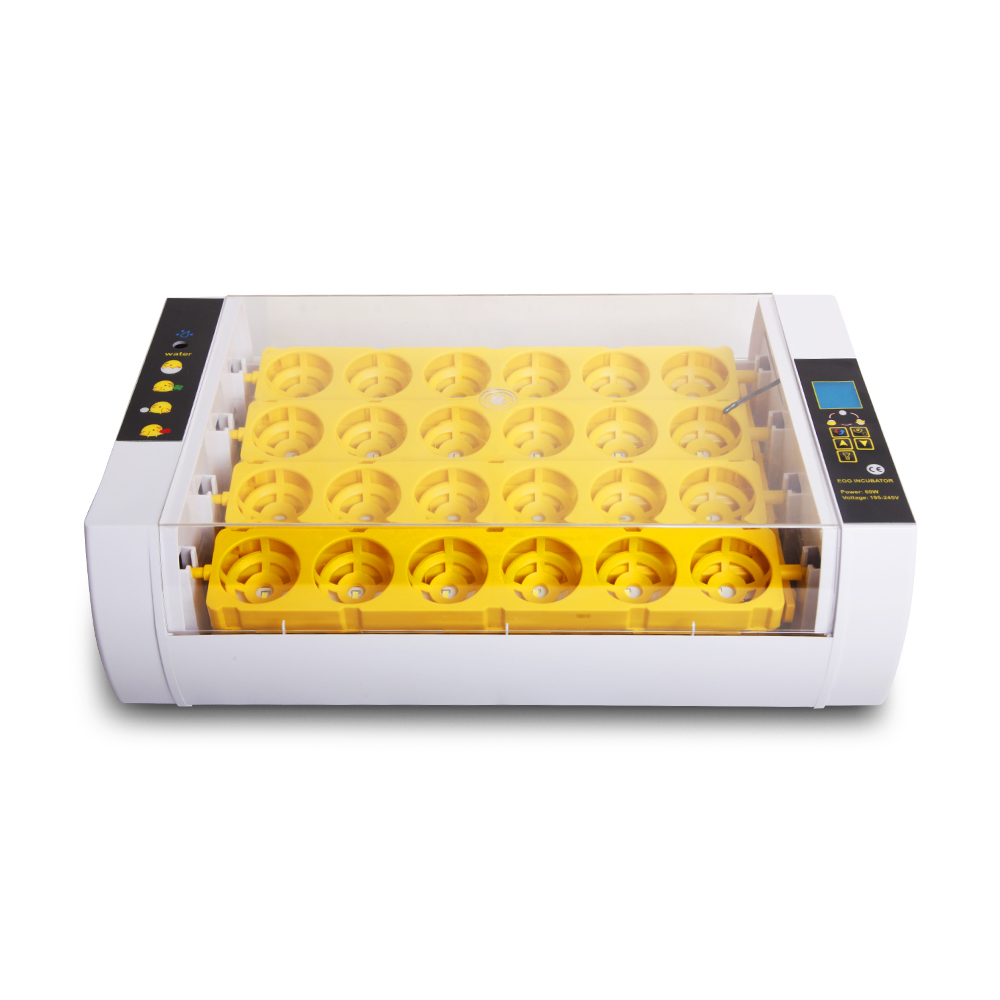 Farm applicable poultry egg incubator 24 <strong>chicken</strong> duck egg incubator hatching machine