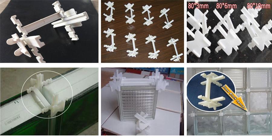 Wholesale custom 190x190mm decorative clear building glass block