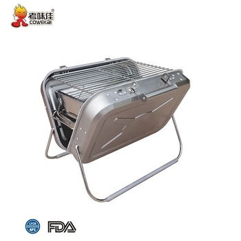 Japanese Profession Folding Outdoor Stainless Steel Charcoal BBQ Grill Stove